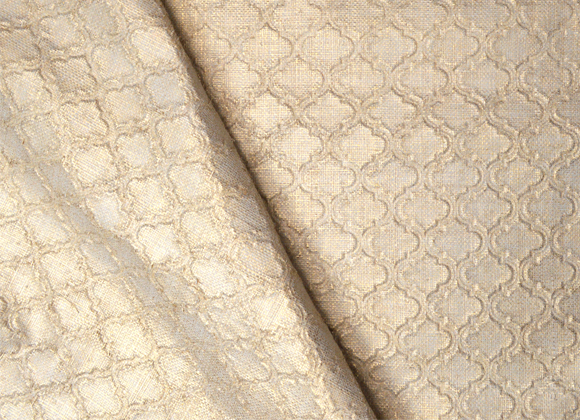 gold embossed raffia wallpaper