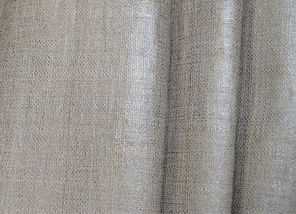 silver metallic raffia wallpaper